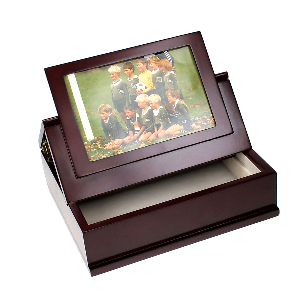 Treasure Box With Small Photo Frame Lid B010f