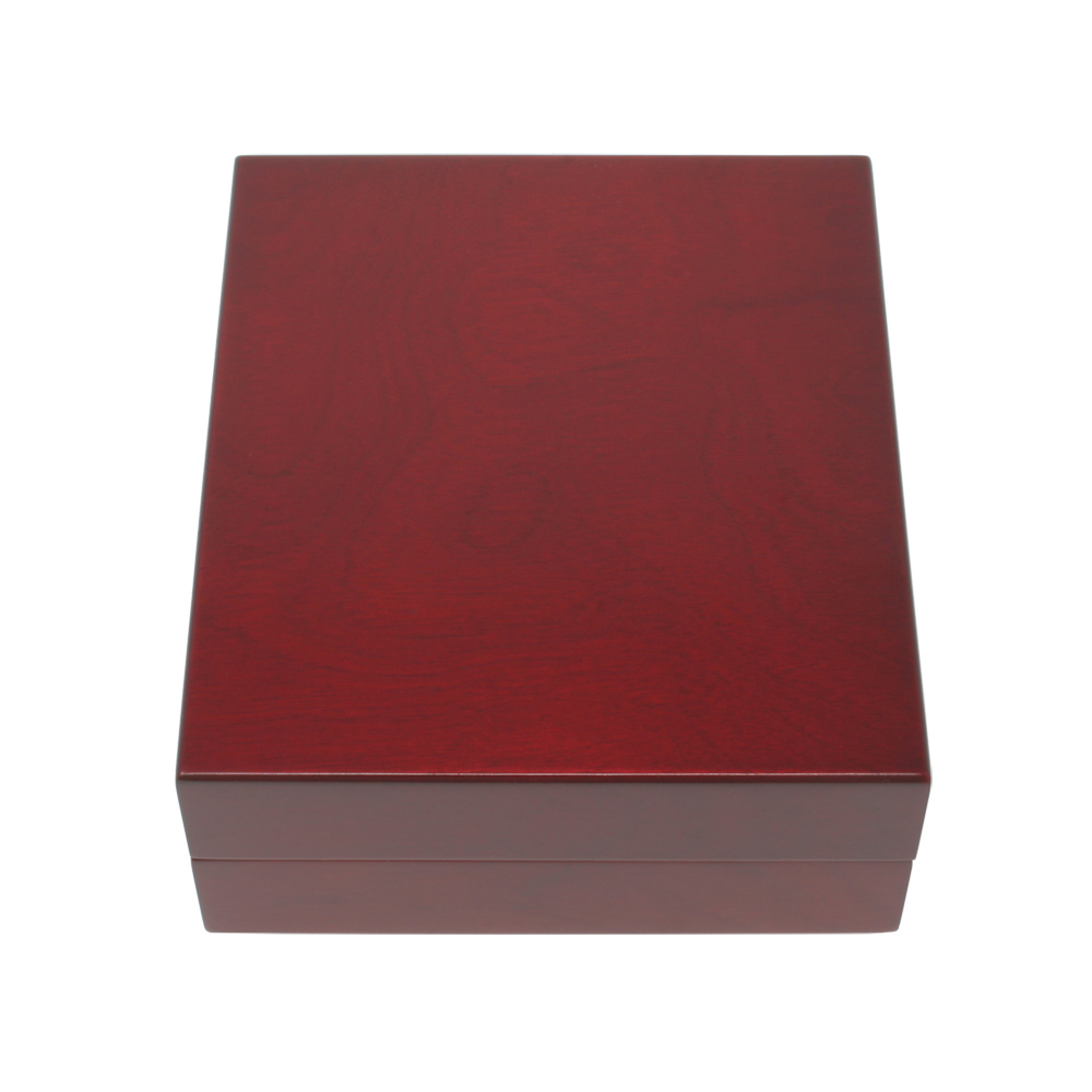 Rosewood Finish Wooden Keepsake Box