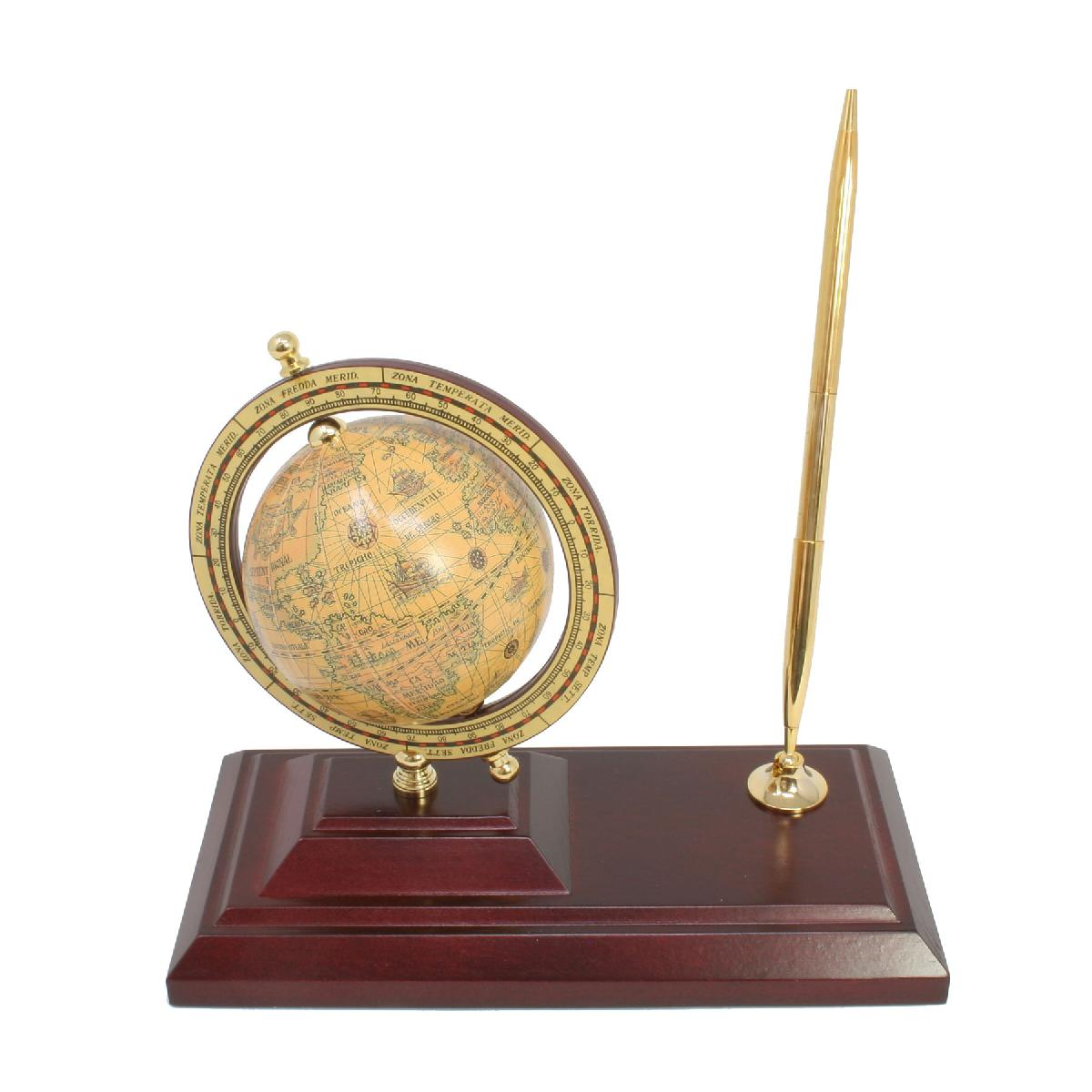 Executive Globe and Pen Stand
