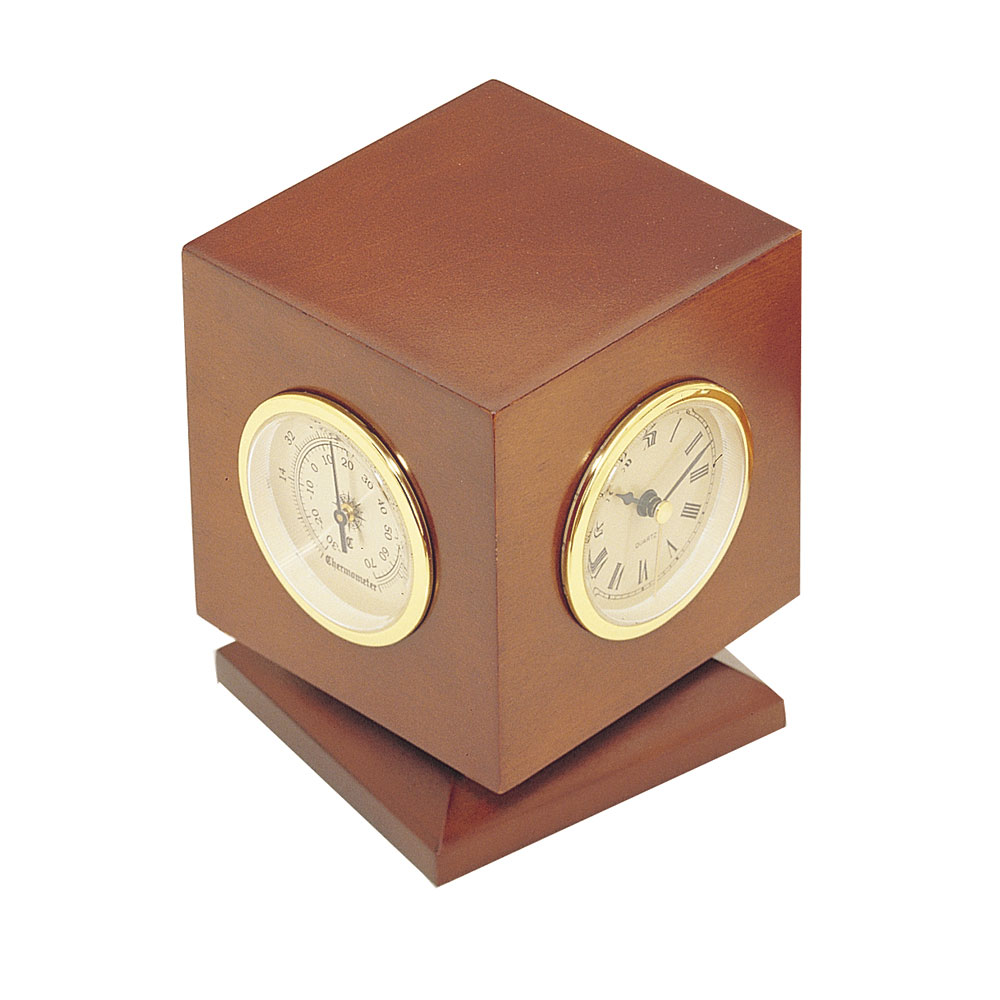 Three-In-One Weather Station Clock