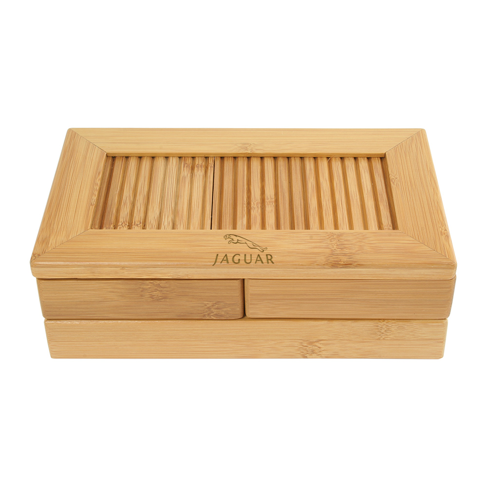 Bamboo Stationery/Organizer Box
