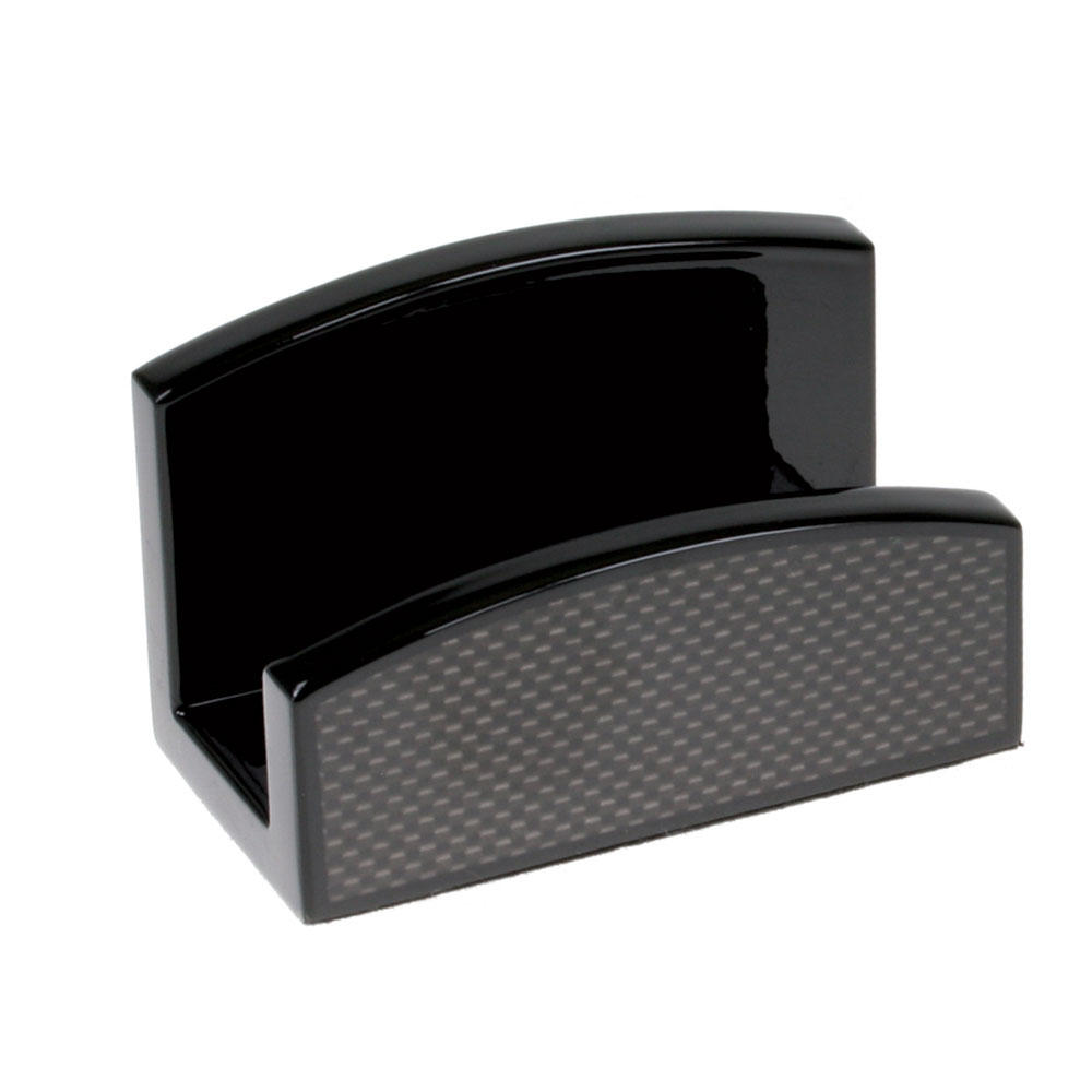Carbon fiber series woodmax business card holder colourmoves