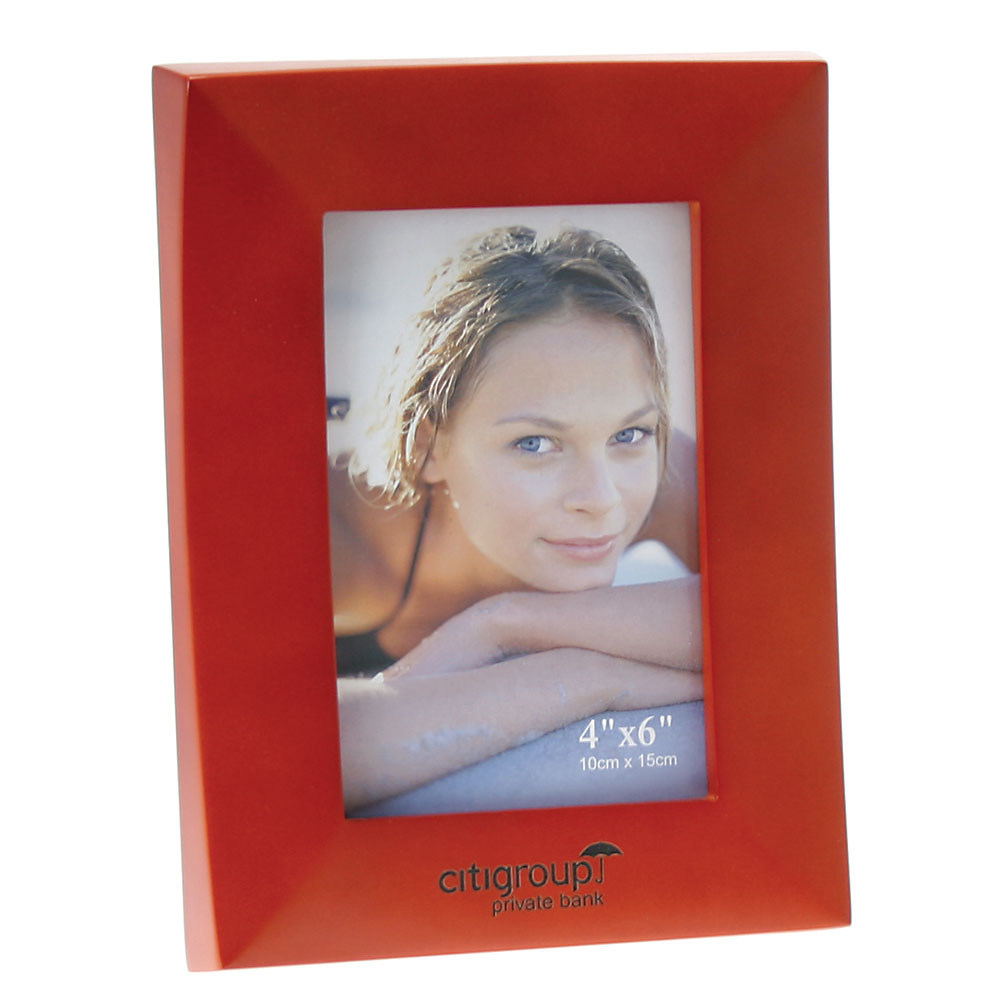 "Cherry Wood Finish Wooden Picture Frame (4""x6"")"