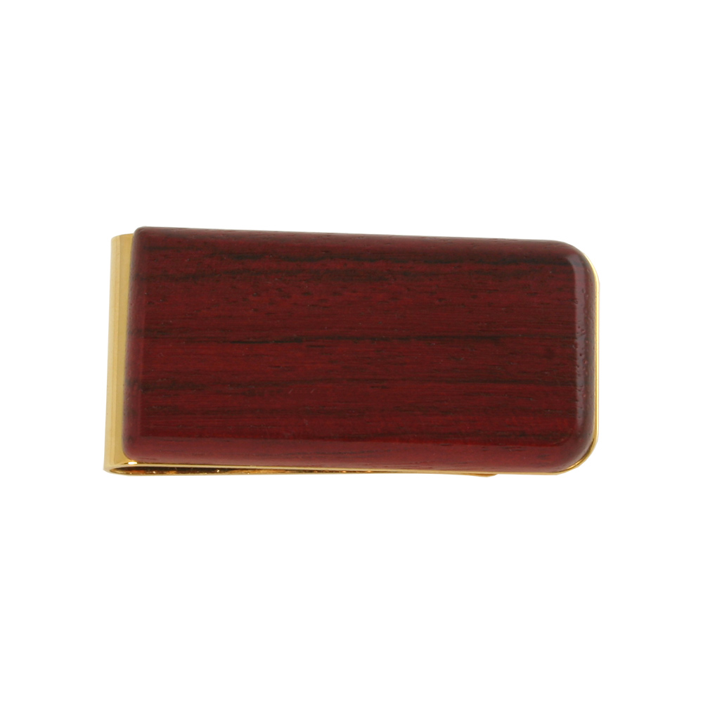 Genuine Rosewood Money Clip