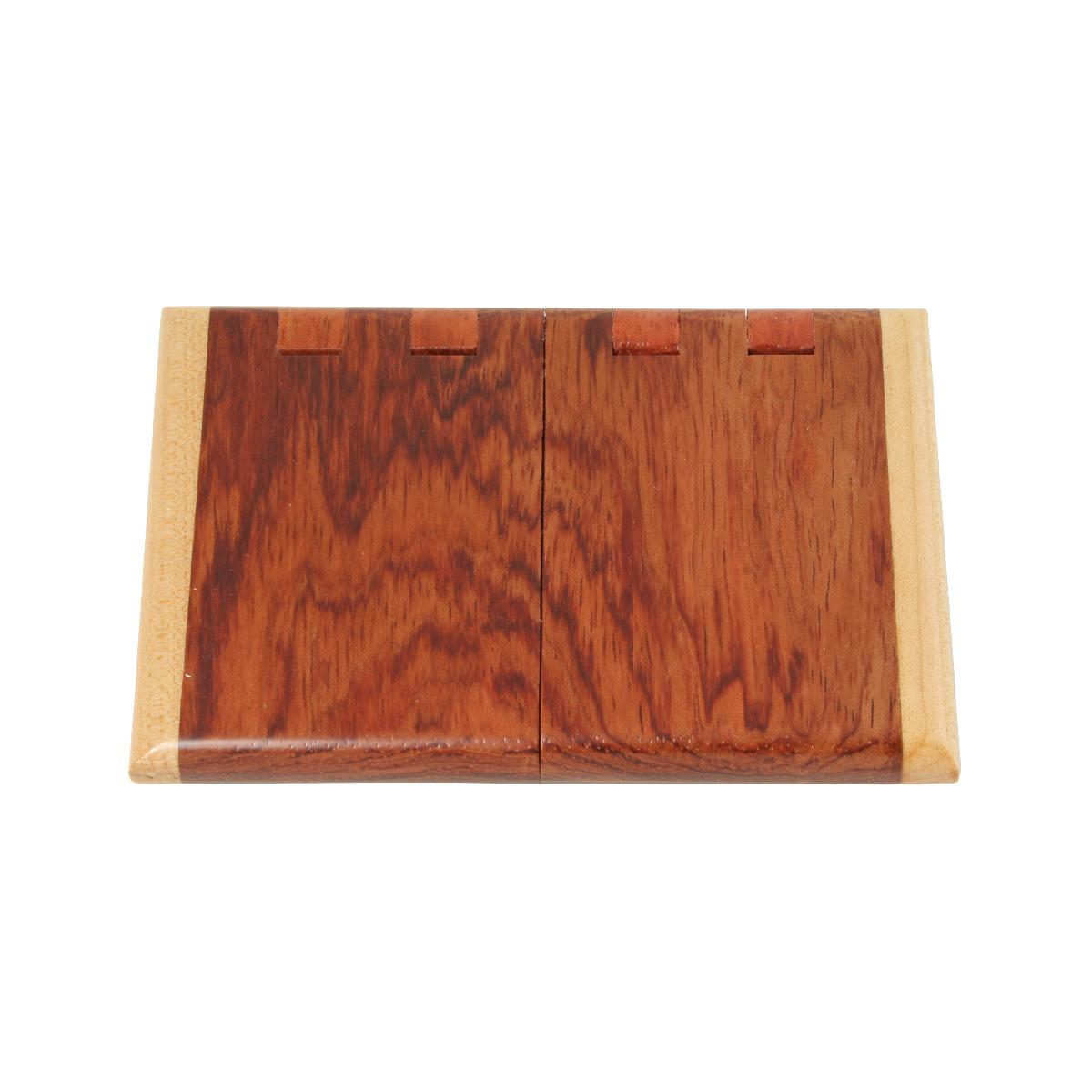 Unique Maple Wood Business Card Case | M112-M