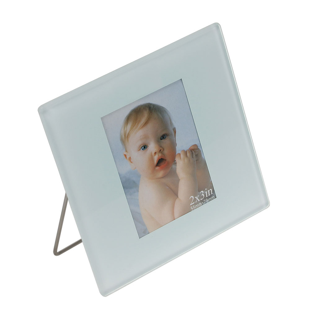 Single Custom Photo Coaster with Easel