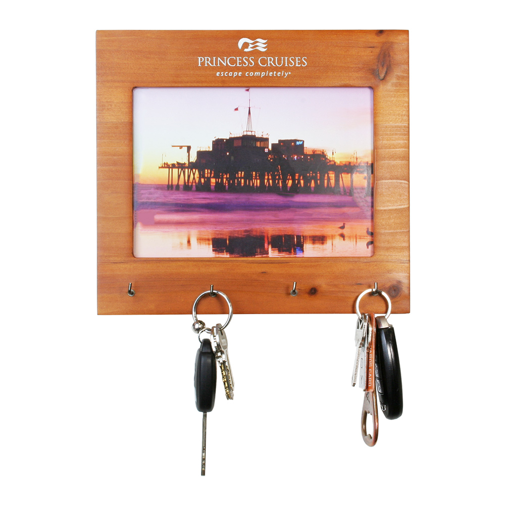 Fir Wood Frame with Key Rack (5