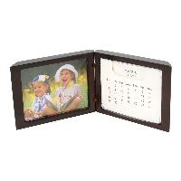 Standing Desk Calendar with Small Picture Frame (3-1/4